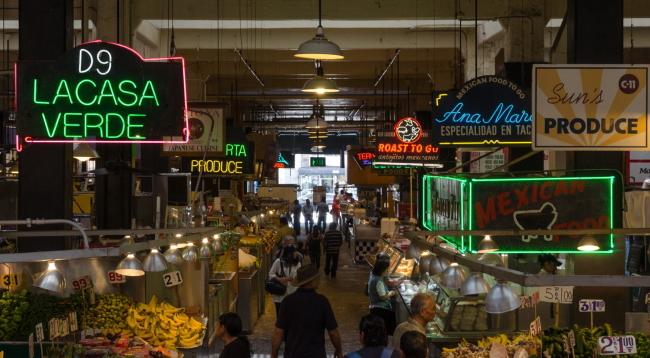 映画『LA LA LAND』のロケ地「グランドセントラルマーケット」徒歩4分/カワダホテル/イメージ