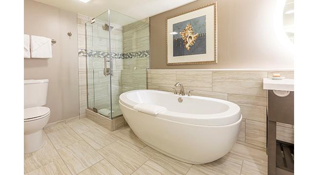 バスルームが2つあるので便利です/ワイキキビーチタワー/イメージ