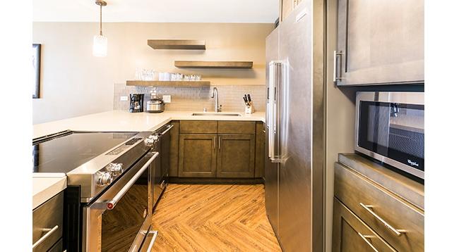 お部屋にはキッチンと洗濯機・乾燥機があります/ビーチタワー/イメージ